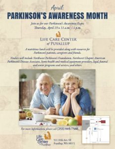 Parkinson's Awareness Month: April Expo @ Life Care Center of Puyallup  | Puyallup | Washington | United States
