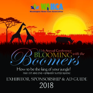 Blooming with the Boomers - WACA 11th Annual Conference @ Embassy Suites SeaTac | Seattle | Washington | United States