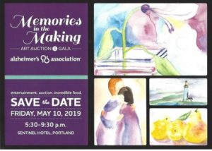 Memories in the Making Art Auction and Gala @ Sentinel Hotel | Portland | Oregon | United States