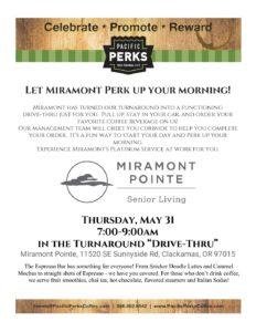Let Miramont Perk Up Your Morning! @ Miramont Pointe  | Clackamas | Oregon | United States