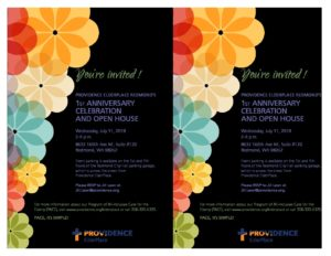 Providence ElderPlace Redmond's First Anniversary Open House @ Providence ElderPlace Redmond PACE site | Redmond | Washington | United States