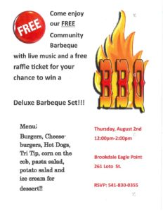 Barbeque with a Barbeque Giveaway! @ Eagle Point | Eagle Point | Oregon | United States