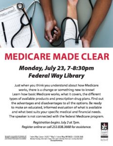 Medicare Made Clear @ Federal Way Library | Federal Way | Washington | United States