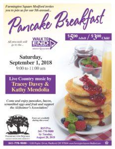 Pancake Breakfast @ Farmington Square Medford | Medford | Oregon | United States