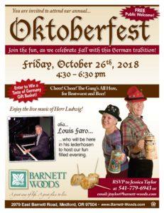 Oktoberfest at Barnett Woods @ Barnett Woods Independent Living  | Medford | Oregon | United States