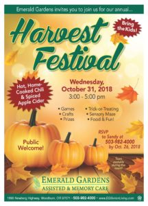 Harvest Festival at Emerald Gardens @ Emerald Gardens  | Woodburn | Oregon | United States