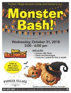 Monster Bash! @ Pioneer Village | Jacksonville | Oregon | United States