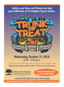 Trunk or Treat @ Farmington Square Salem | Salem | Oregon | United States