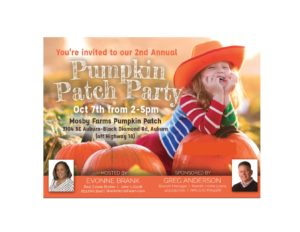 Pumpkin Patch Party 2018 @ Mosby Farms Pumpkin Patch | Auburn | Washington | United States