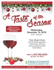 A Taste of the Season @ Emerald Gardens | Woodburn | Oregon | United States