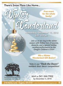 Winter Wonderland @ Farmington Square Eugene   Eugene   Oregon   United States