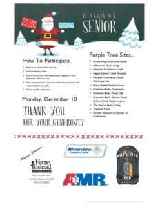 Be A Santa to A Senior @ Home Instead Vancouver | Vancouver | Washington | United States