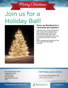 Christmas Gala @ Eagle Point Brookdale Christmas Party | Eagle Point | Oregon | United States
