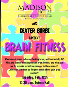 Brain Fitness @ Madison House