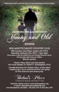 Bridging the Gap Between Young & Old @ Willamette Valley Country Club