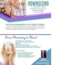 Downsizing: A Seniors Guide @ Gresham Manor
