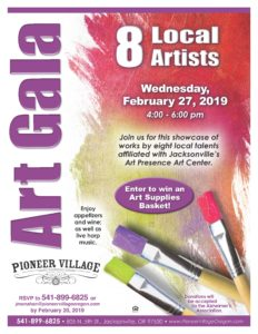 Art Gala at Pioneer Village @ Pioneer Village