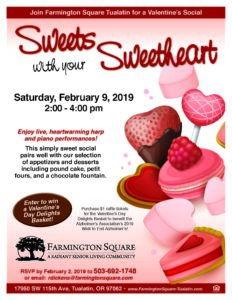 Sweets with your Sweetheart @ Farmington Square Tualatin