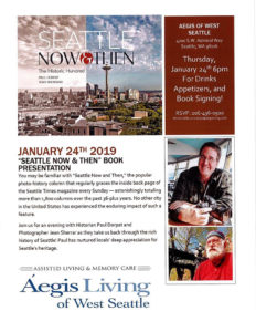 """Seattle Now & Then"" Book Presentation @ Aegis of West Seattle"