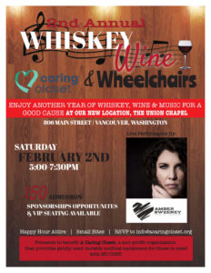 2nd Annual Whiskey, Wine and Wheelchairs @ Union Chapel