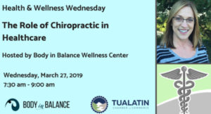 Tualatin Chamber Health & Wellness Wednesday @ Body in Balance Wellness Center