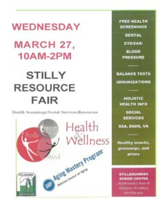 Health Fair @ Stillaguamish Senior Center