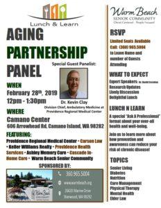 Aging Partnership Panel @ Camano Center