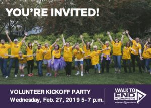 Walk to End Alzheimer's Vancouver - Volunteer Kickoff Party @ Warehouse 23