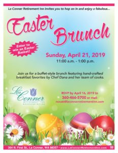 Easter Brunch @ La Conner Retirement Inn