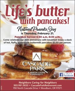 Life's Butter with Pancakes! @ Cascade Park