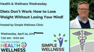 Tualatin Chamber Health & Wellness Wednesday with Dr. Dorian Quinn @ Simple Wellness Clinic