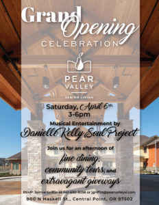 Grand Opening Celebration at Pear Valley @ Pear Valley Senior Living