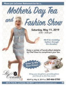 Mother's Day Tea and Fashion Show @ La Conner Retirement Inn
