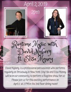 Ragtime Music Concert @ Sunrise Senior Living of Lynnwood