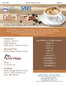 CANCELLED - Sash - Coffee Time Kent @ Arbor Village