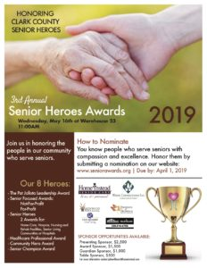 Senior Heroes Awards @ Warehouse 23