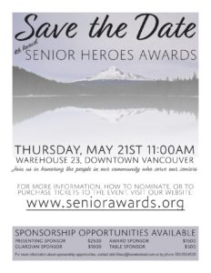 4th Annual Senior Heroes Awards @ Warehouse 23