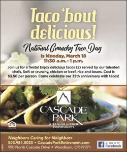 Taco 'bout Delicious! @ Cascade Park