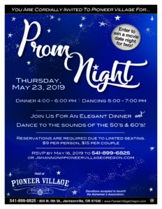 Prom Night @ Pioneer Village