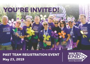 Walk to End Alzheimer's - Past Team Registration Event @ Lucky Labrador Beer Hall - Quimby