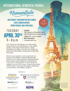 International Dementia Trends: Humanitude @ Community Home Health and Hospice, Seasons of Hope Center