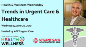 Health & Wellness Wednesday @ AFC Urgent Care