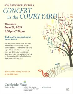 Concert in the Courtyard @ Creekside Place