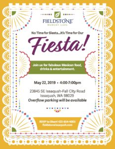 No Time for Siesta, It's Time for Our Fiesta! @ Fieldstone Memory Care