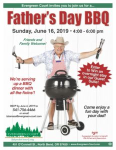 Father's Day BBQ @ Evergreen Court