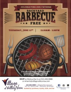 Father's Day Backyard Barbecue @ Village at Valley View