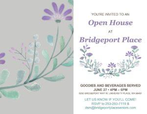 Open House at Bridgeport Place @ Bridgeport Place Senior Living