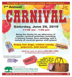 7th Annual Carnival @ Farmington Square Gresham