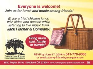 Father's and Mother's Day Celebration Lunch @ Farmington Square Medford