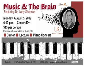 Music & The Brain @ Center 50+